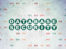 Privacy concept: Database Security on Digital Stock Images