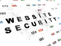 Privacy concept: Website Security on Digital Royalty Free Stock Image