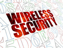 Privacy concept: Wireless Security on Digital Stock Photo
