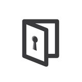 Privacy mode icon with security feature Stock Image