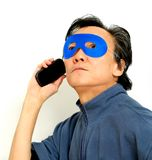 Privacy phone call  Royalty Free Stock Images