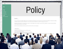 Privacy Policy Information Principle Strategy Rules Concept Stock Photography