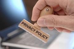 Privacy policy Royalty Free Stock Images