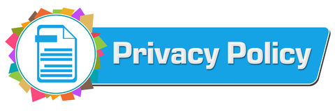 Privacy Policy Random Colorful Circular Bar Stock Photography