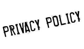 Privacy Policy rubber stamp Royalty Free Stock Photos