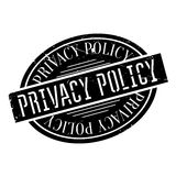 Privacy Policy rubber stamp Stock Photos