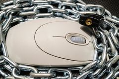 Data security - privacy protection Royalty Free Stock Photos