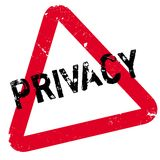Privacy rubber stamp Royalty Free Stock Image