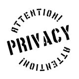 Privacy rubber stamp Royalty Free Stock Images