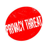 Privacy Threat rubber stamp Stock Photo