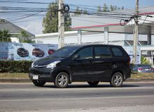 Privat-Auto Toyotas Avanza Stockbild