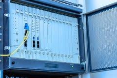 Privat automatisk filialeXchage av telefonsystemet Arkivbilder