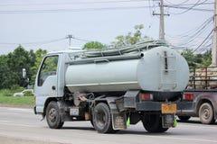 Privat av kloaklastbilen Royaltyfria Bilder