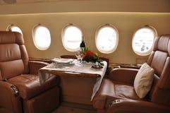 Privat Aviation Travelling è più efficace fotografia stock libera da diritti