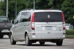 Privat Benz Vito 115 CDI-skåpbil Royaltyfri Foto