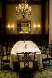 Privat dinning rum för restaurang arkivfoton