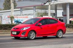 Privat-Eco-Auto Mazda 2 Stockfoto