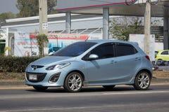 Privat-Eco-Auto Mazda 2 Lizenzfreie Stockfotografie