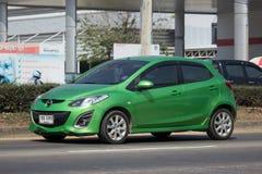 Privat-Eco-Auto Mazda 2 Lizenzfreie Stockbilder