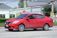 Privat-Eco-Auto, Nissan Almera Lizenzfreies Stockbild