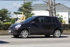 Privat-Eco-Auto, Nissan March Stockfoto