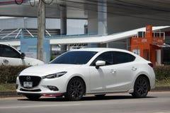 Privat Eco bil, Mazda3 Arkivbild