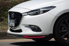 Privat Eco bil, Mazda2 Fotografering för Bildbyråer