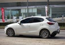 Privat Eco bil Mazda 2 Royaltyfri Bild