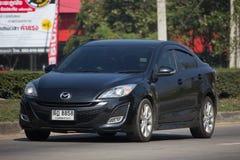 Privat Eco bil Mazda 2 Arkivbilder