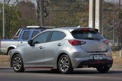 Privat Eco bil Mazda 2 Royaltyfria Foton