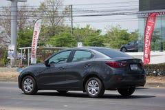 Privat Eco bil Mazda 2 Royaltyfri Foto
