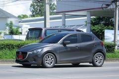 Privat Eco bil, Mazda 2 Royaltyfria Bilder