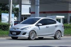 Privat Eco bil, Mazda 2 Arkivbild