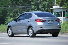 Privat Eco bil, Mazda 2 Arkivfoto