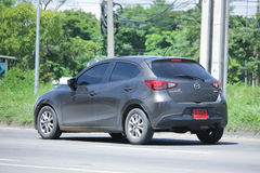 Privat Eco bil, Mazda 2 Royaltyfri Fotografi