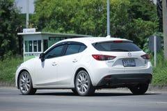 Privat Eco bil, Mazda 3 Royaltyfri Bild