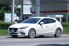 Privat Eco bil, Mazda 3 Arkivfoto