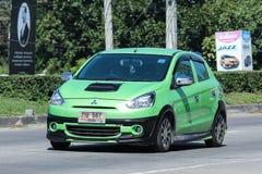 Privat Eco bil, Mitsubishi hägring Arkivbild