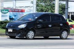 Privat Eco bil, Mitsubishi hägring Royaltyfria Foton