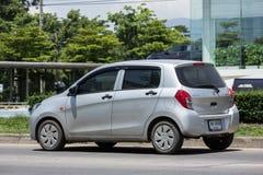Privat Eco bil, Suzuki Celerio Royaltyfria Foton