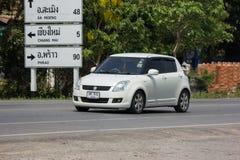Privat-Eco-Stadt Auto Suzuki Swift Stockfoto
