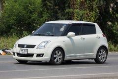 Privat-Eco-Stadt Auto Suzuki Swift Stockbilder
