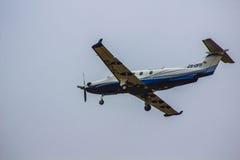 privat flygplan royaltyfri foto