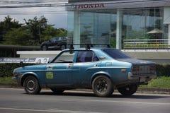 Privat gammal bil, Mazda bil Arkivbilder