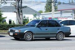 Privat gammal bil, Mazda bil Royaltyfri Fotografi