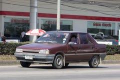 Privat gammal bil, Renault 11 Fotografering för Bildbyråer