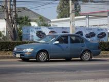 Privat gammal bil, Toyota Corolla Arkivfoton