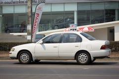 Privat gammal bil, Toyota Corolla Arkivbild