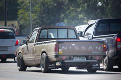 Privat gammal uppsamlingsbil, Nissan eller Datsan 1500 Arkivbilder