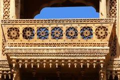 privat herrgård för haveliindia jaisalmer Royaltyfria Foton